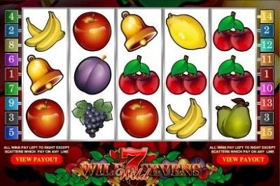 Wild Sevens Online Slot Machine